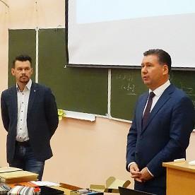 Встреча со студентами выпускного курса ВГЛТУ